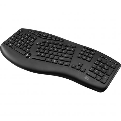Adesso TruForm Media 1600   Wireless Ergonomic Keyboard And Optical Mouse Alternate-Image2/500