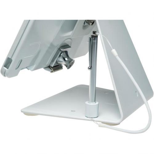 CTA Digital Desk Mount For IPad, IPad Air, IPad Pro   White Alternate-Image2/500