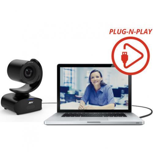 AVer CAM540 Video Conferencing Camera   30 Fps   USB 3.1 Alternate-Image2/500