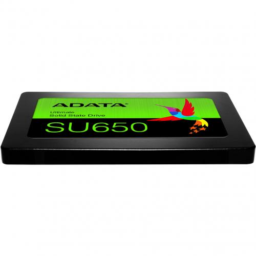 "Adata Ultimate SU650 ASU650SS 120GT R 120 GB Solid State Drive   2.5"" Internal   SATA (SATA/600)   Black Alternate-Image2/500"