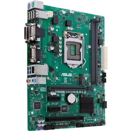 Asus Prime H310M C R2.0/CSM Desktop Motherboard   Intel Chipset   Socket H4 LGA 1151 Alternate-Image2/500