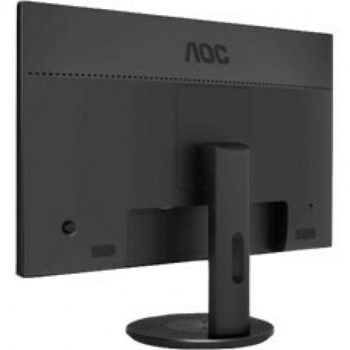 "AOC U2790VQ 27"" 4K UHD WLED LCD Monitor   16:9   Black Alternate-Image2/500"