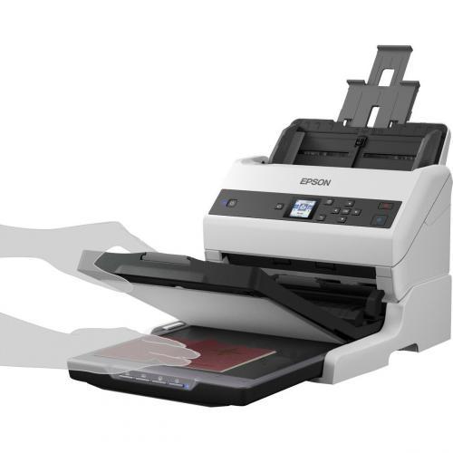 Epson WorkForce DS 970 Sheetfed Scanner   600 Dpi Optical Alternate-Image2/500