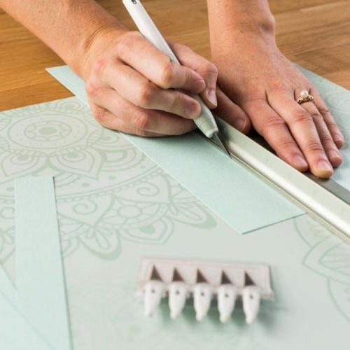 "Cricut Decorative Self Healing Mat, Mint   12"" X 12"" Alternate-Image2/500"