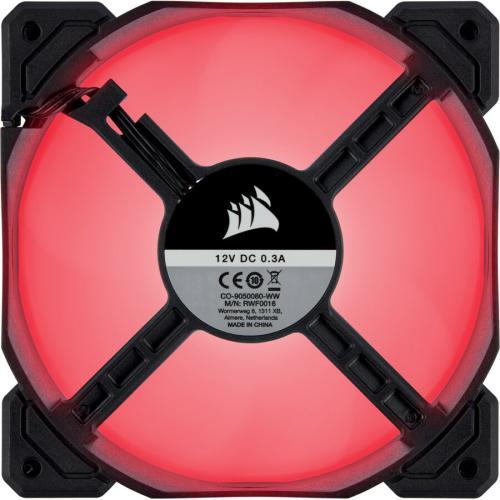 AF120 LED SINGLE PACK LOW NOISE COOLING FAN RED Alternate-Image2/500