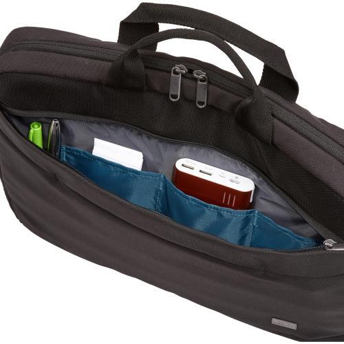 "Case Logic Advantage ADVA 116 BLACK Carrying Case (Attaché) For 10"" To 16"" Notebook   Black Alternate-Image2/500"