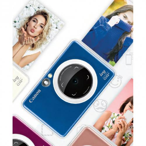 Canon IVY CLIQ+ Instant Digital Camera   Sapphire Blue Alternate-Image2/500