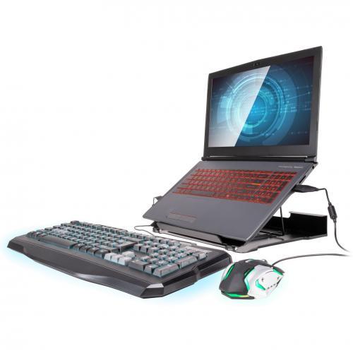 Allsop 32147 Metal Art Adjustable Laptop Stand Alternate-Image2/500