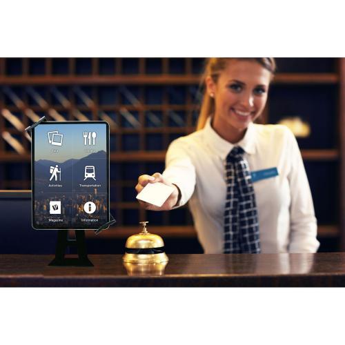 CTA Digital Angle Adjustable Locking Desktop Stand For 7 14 Inch Tablets Alternate-Image2/500