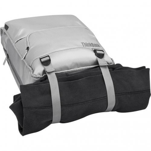 """Lenovo Carrying Case (Backpack) For 15.6"""" Lenovo Notebook   Gray Alternate-Image2/500"""