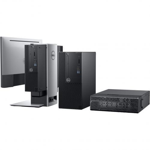 Dell OptiPlex 3000 3070 Desktop Computer   Intel Core I3 9th Gen I3 9100 3.60 GHz   4 GB RAM DDR4 SDRAM   500 GB HDD   Small Form Factor Alternate-Image2/500