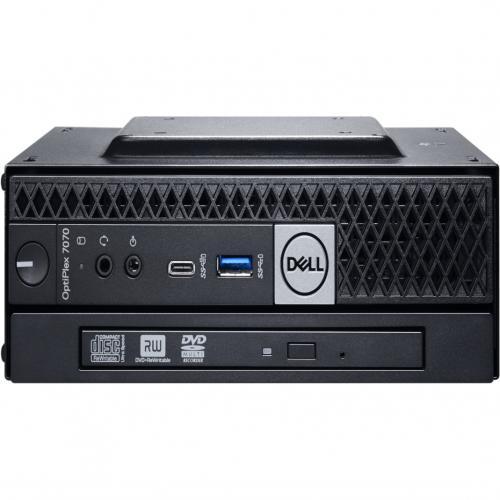 Dell OptiPlex 7000 7070 Desktop Computer   Intel Core I5 9th Gen I5 9500T 2.20 GHz   8 GB RAM DDR4 SDRAM   128 GB SSD   Micro PC Alternate-Image2/500