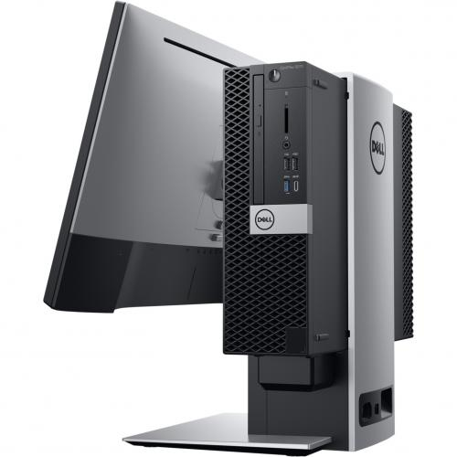 Dell OptiPlex 5000 5070 Desktop Computer   Intel Core I7 9th Gen I7 9700 3 GHz   8 GB RAM DDR4 SDRAM   500 GB HDD   Small Form Factor Alternate-Image2/500