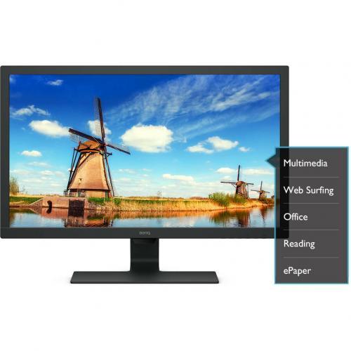 """BenQ GL2480 23.8"""" Full HD WLED LCD Monitor   16:9   Black Alternate-Image2/500"""