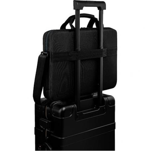 """Dell Essential ES1520C Carrying Case (Briefcase) For 15"""" To 15.6"""" Notebook   Black Alternate-Image2/500"""