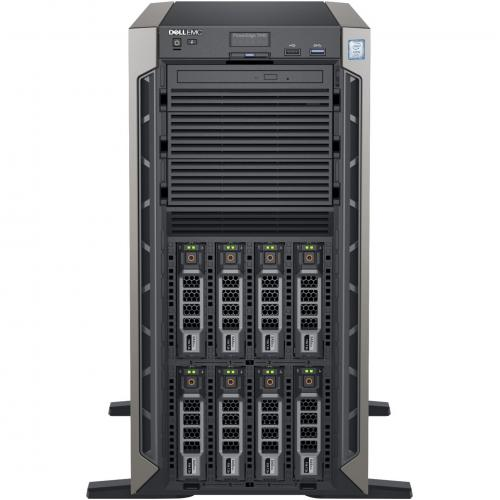 Dell EMC PowerEdge T440 5U Tower Server   2 X Intel Xeon Silver 4208 2.10 GHz   32 GB RAM   1 TB (1 X 1 TB) HDD   12Gb/s SAS, Serial ATA/600 Controller Alternate-Image2/500