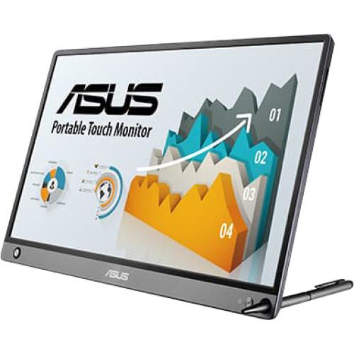 "Asus ZenScreen MB16AMT 15.6"" LCD Touchscreen Monitor   16:9   5 Ms GTG Alternate-Image2/500"