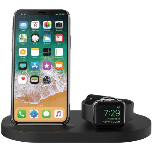 Belkin BOOST↑UP Wireless Charging Dock For IPhone + Apple Watch + USB A Port Alternate-Image2/500