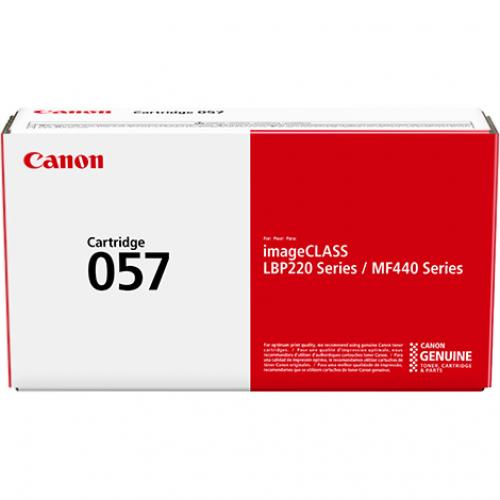 Canon 057 Original Toner Cartridge   Black Alternate-Image2/500