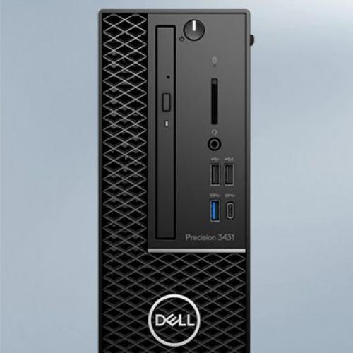 Dell Precision 3000 3431 Workstation   Xeon E 2224   16 GB RAM   256 GB SSD   Small Form Factor Alternate-Image2/500