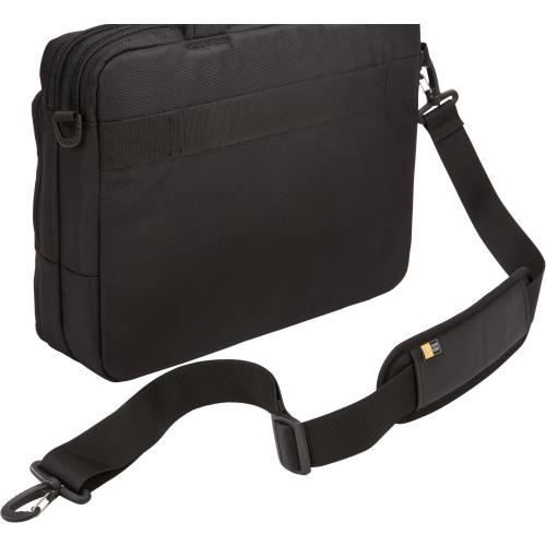 """Case Logic Carrying Case (Briefcase) For 14"""" Notebook, Tablet PC, Portable Electronics, Accessories   Black Alternate-Image2/500"""