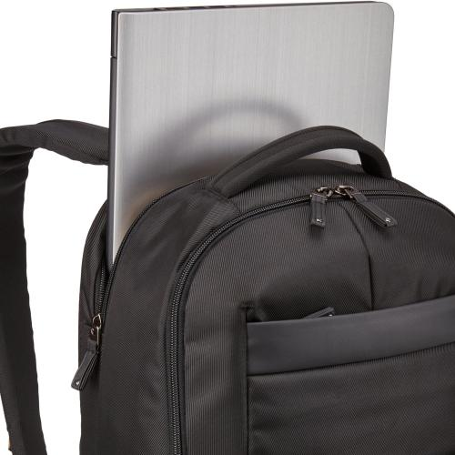 "Case Logic Notion Carrying Case (Backpack) For 15.6"" Notebook   Black Alternate-Image2/500"
