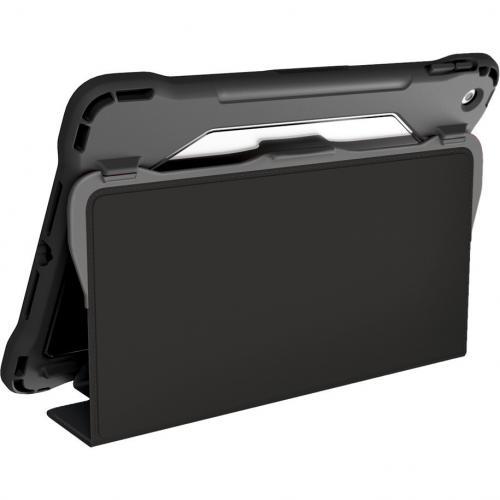 "Brenthaven Edge Folio III Carrying Case (Folio) For 10.2"" Apple IPad (7th Generation) Tablet   Gray, Translucent Alternate-Image2/500"