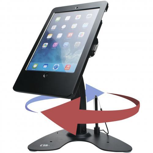 CTA Digital Desk Mount For IPad, IPad Air, IPad Pro, Card Reader Alternate-Image2/500