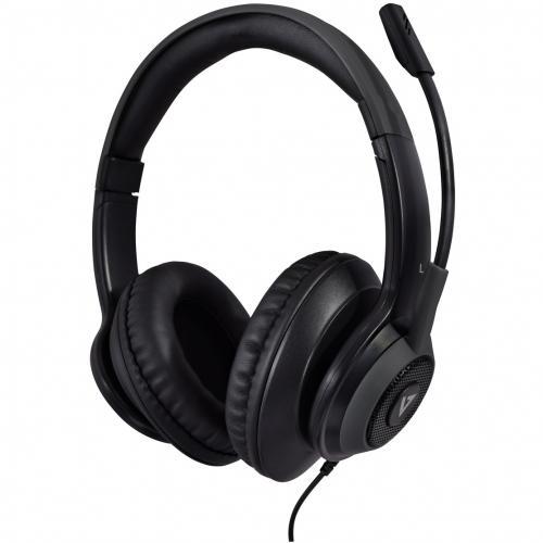 V7 Premium Over Ear Stereo Headset With Boom Mic Alternate-Image2/500