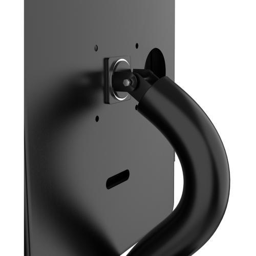 CTA Digital Premium Height Adjustable Floor To Desk Security Kiosk For Tablets Alternate-Image2/500