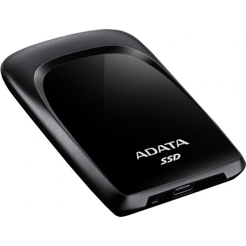 Adata 240 GB Solid State Drive   External   Black Alternate-Image2/500