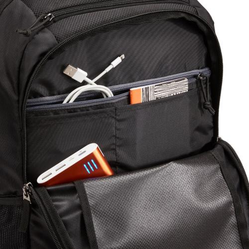 "Case Logic Carrying Case (Backpack) For 10.5"" To 15.6"" Notebook   Black Alternate-Image2/500"
