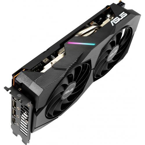 Asus Dual DUAL RX5500XT O8G EVO Radeon RX 5500 XT Graphic Card   8 GB GDDR6 Alternate-Image2/500