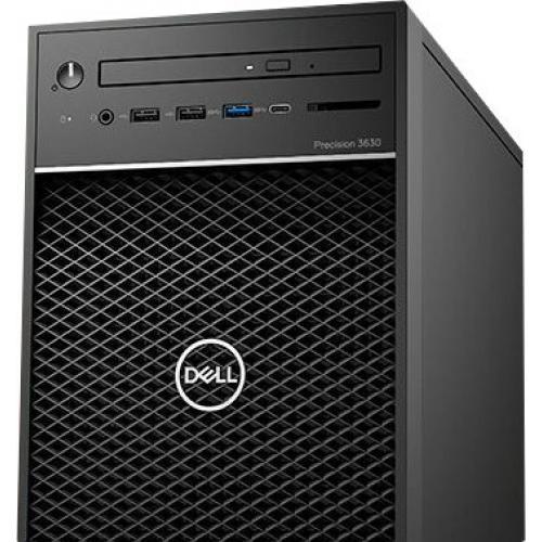 Dell Precision 3000 3630 Workstation   Core I7 I7 9700K   16 GB RAM   256 GB SSD   Mini Tower Alternate-Image2/500