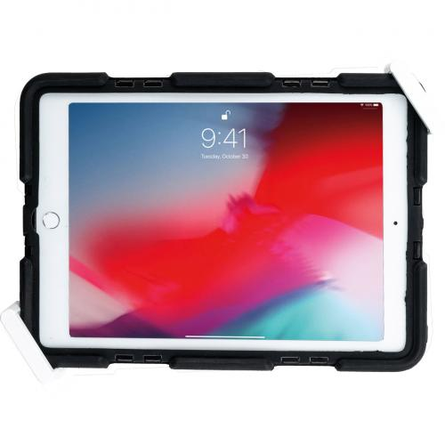CTA Digital Wall Mount For Tablet, IPad   White Alternate-Image2/500