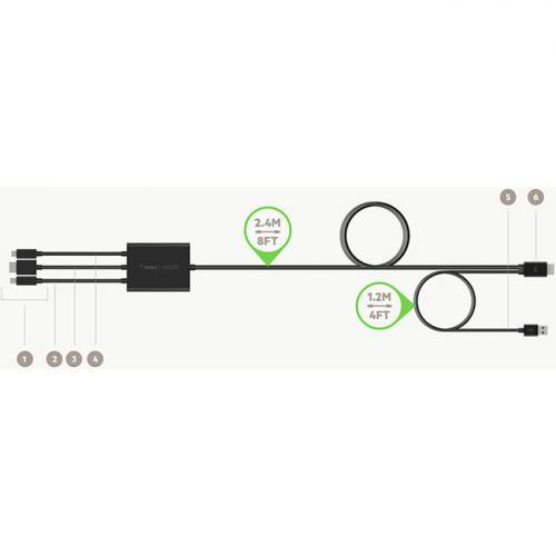 Belkin CONNECT Digital Multiport To HDMI® AV Adapter Alternate-Image2/500