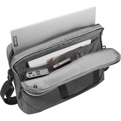 """Lenovo Carrying Case For 15.6"""" Notebook   Charcoal Gray Alternate-Image2/500"""