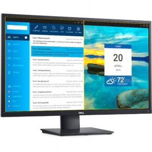 "Dell E2720HS 27"" LCD Anti Glare Monitor   1920 X 1080 Full HD Display   60 Hz Refresh Rate   VGA & HDMI Input Connectors   LED Backlight Technology   In Plane Switching Technology Alternate-Image2/500"