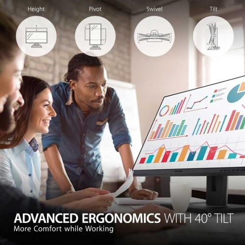 "Viewsonic VG2456 23.8"" Full HD WLED LCD Monitor   16:9   Black Alternate-Image2/500"