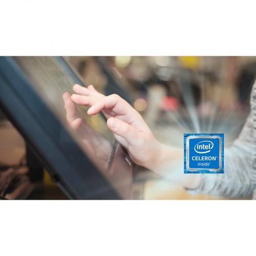 "AOpen ETILE X19 All In One Computer   Intel Celeron N2930   4 GB RAM DDR3L SDRAM   64 GB SSD   19.5"" Full HD 1920 X 1080 Touchscreen Display   Desktop Alternate-Image2/500"
