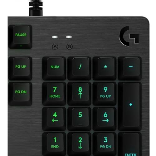 Logitech G512 LIGHTSYNC RGB Mechanical Gaming Keyboard Alternate-Image2/500