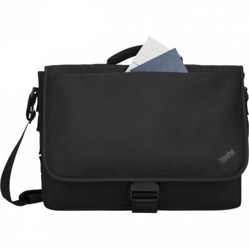 "Lenovo Carrying Case (Messenger) For 15.6"" Notebook   Black Alternate-Image2/500"