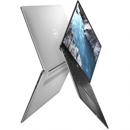 "Dell XPS 13 7390 13.3"" Touchscreen Notebook   4K UHD   3840 X 2160   Intel Core I7 (10th Gen) I7 10510U Quad Core (4 Core)   8 GB RAM   256 GB SSD   Platinum Silver, Carbon Fiber Black Alternate-Image2/500"