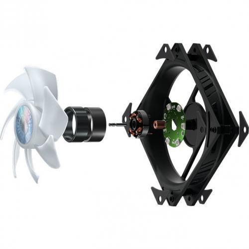 Cooler Master MasterLiquid ML120L V2 RGB Cooling Fan/Radiator/Water Block Alternate-Image2/500