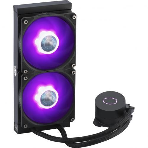 Cooler Master MasterLiquid ML240L V2 RGB RGB Cooling Fan/Radiator/Water Block Alternate-Image2/500