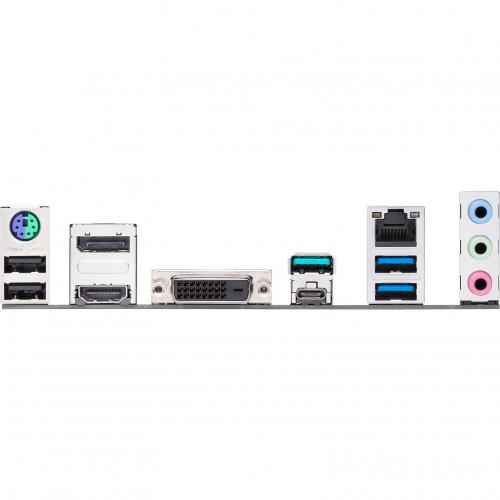 Asus Prime Z490M PLUS Desktop Motherboard   Intel Chipset   Socket LGA 1200 Alternate-Image2/500