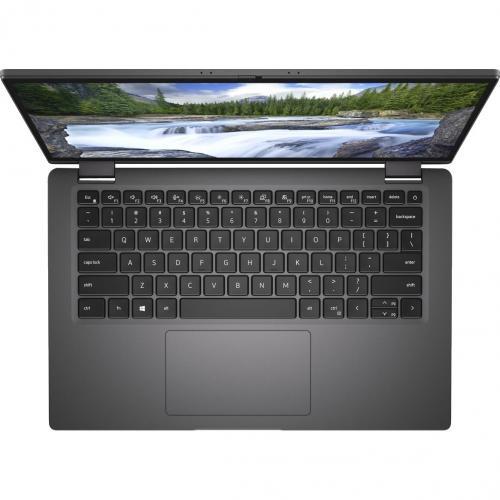 """Dell Latitude 7000 7410 14"""" Touchscreen 2 In 1 Notebook   Full HD   1920 X 1080   Intel Core I7 (10th Gen) I7 10610U Quad Core (4 Core) 1.80 GHz   16 GB RAM   256 GB SSD   Aluminum Titan Gray Alternate-Image2/500"""