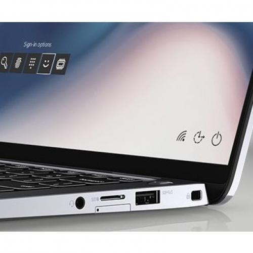 """Dell Latitude 9000 9410 14"""" Touchscreen 2 In 1 Notebook   1920 X 1280   Intel Core I7 (10th Gen) I7 10610U Quad Core (4 Core) 1.80 GHz   16 GB RAM   256 GB SSD   Anodized Titan Gray Alternate-Image2/500"""