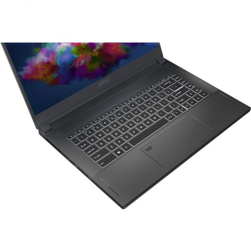 "MSI Creator 15 Creator 15 A10SET 088 15.6"" Touchscreen Gaming Notebook   Full HD   1920 X 1080   Intel Core I7 (10th Gen) I7 10875H Octa Core (8 Core) 2.30 GHz   16 GB RAM   512 GB SSD   Space Gray With Silver Diamond Cut Alternate-Image2/500"