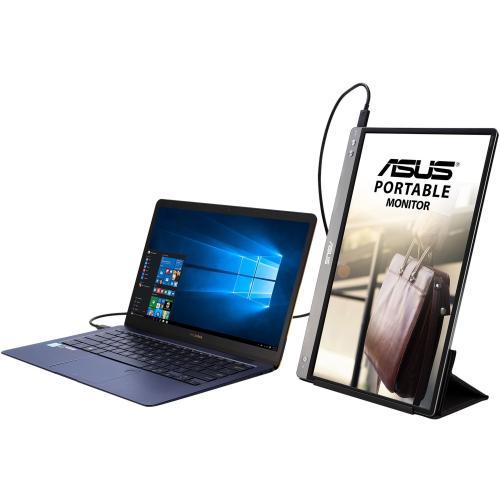 """Asus ZenScreen MB14AC 14"""" Full HD LCD Monitor   16:9   Dark Gray Alternate-Image2/500"""
